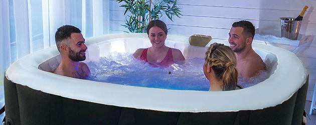 Installer un spa gonflable chez soi à l'intérieur, nos conseils